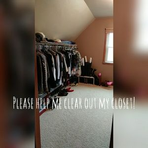 Other - Clearing out my closet